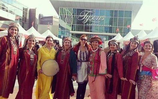 Türk Kültür Festivaline Yoğun İlgi