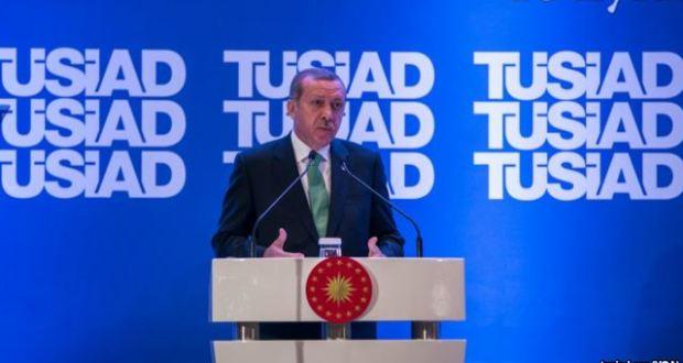 Erdoğan'dan TÜSİAD'a Sert Eleştiriler