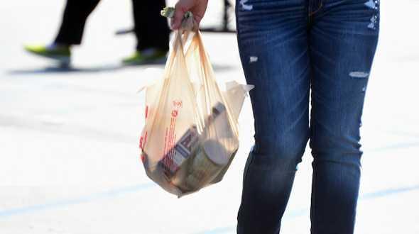 Kaliforniya naylon torbayı yasaklıyor